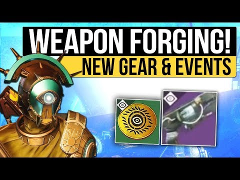 Destiny 2 News | Weapon Forging Quests, Vex Weapon Gameplay, Event Rewards, New Activities & More!
