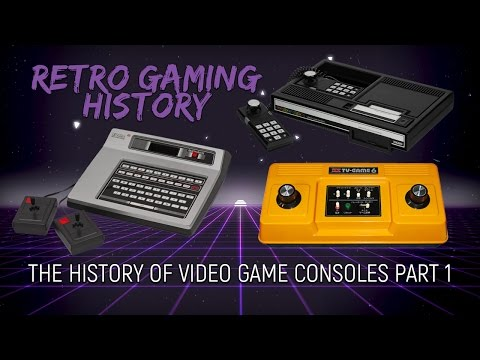 Retro Gaming History: The History Of Gaming Consoles - Part 1