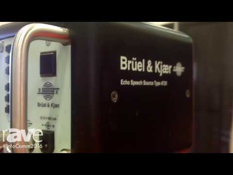 InfoComm 2016: Brüel & Kjær Introduces Echo Speech Source Type 4720