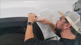 2016 Toyota Tacoma Fender Flare Removal   How To