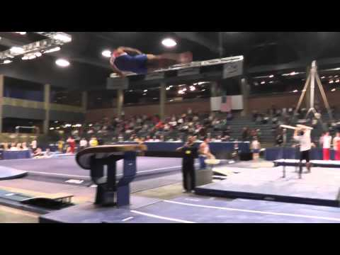 Danell Leyva - Vault - 2013 Winter Cup Prelims