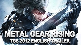 Metal Gear Rising_ Revengeance Story Trailer - English Version - TGS 2012