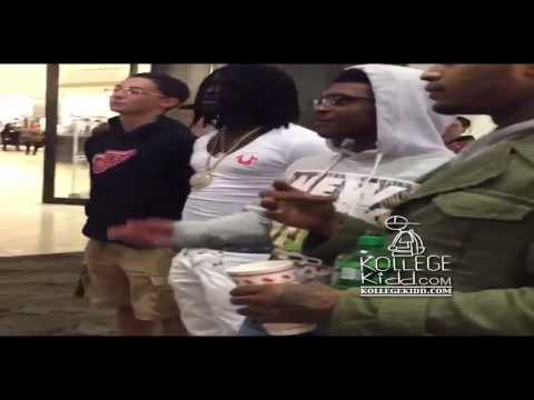 Chief Keef & Fredo Santana Show Love To Fans At The Mall video
