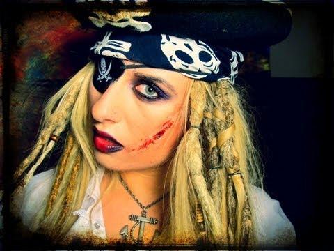 прически пиратки фото