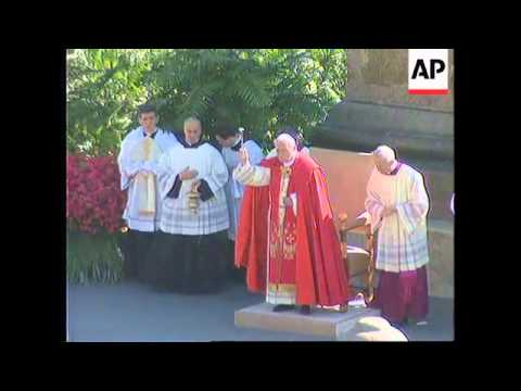 ITALY: VATICAN: POPE JOHN PAUL II CELEBRATION OF MASS