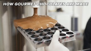 How Gourmet Chocolates Are Made • Tasty