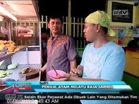 [ANTV] TOPIK, Kuliner Nikmatnya Ayam Bakar Dengan Sambal Pedas