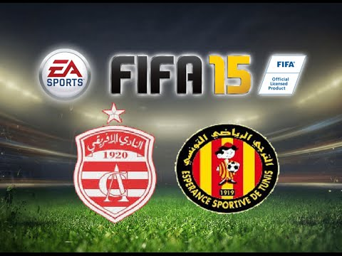 FIFA 15 Gameplay Club Africain vs Esperance Sportive De Tunis