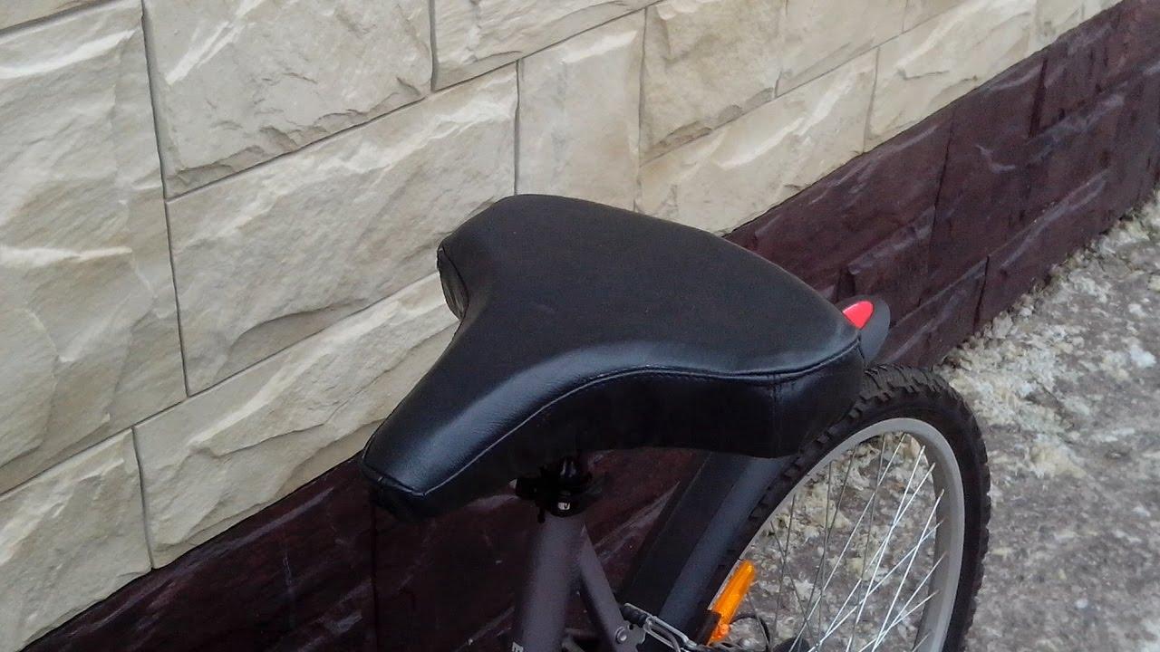 Как на велосипеде сделать мягче седло 678