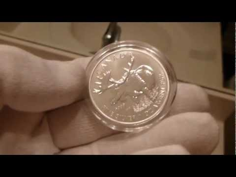 2012 Royal Canadian Mint Wildlife Series Silver Moose 1 Ounce Silver Coin Review