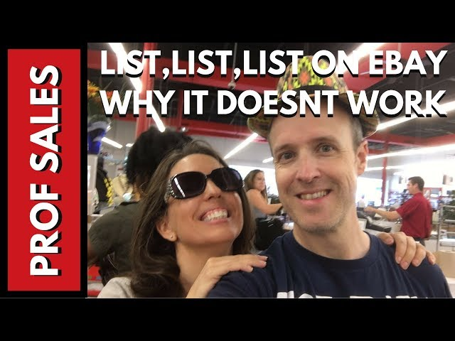 How Listing Everyday on Ebay May Put You Out of Business