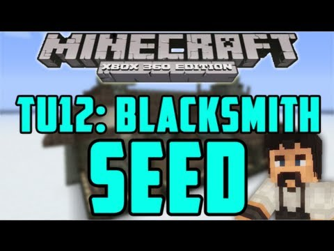 Best TU12 Blacksmith Seed - Minecraft (Xbox 360) TU12 Seed Showcase #4