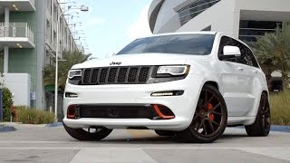 Jeep Grand Cherokee SRT 8 on Vossen Forged VPS-306 Wheels