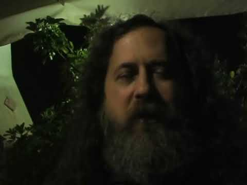 Richard Stallman - Daily use of GNU/Linux