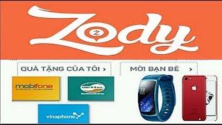 Kiếm tiền với ứng dụng Zody tích điểm đổi quà tặng voucher hấp dẫn