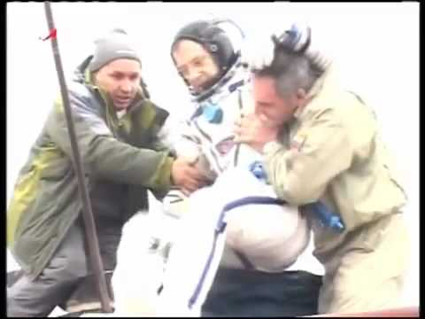 SOYUZ TMA-15: LANDING OF EXPEDITION 21