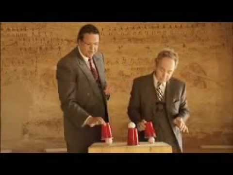 (Magic Revealed) Never Old Cups And Balls Tricks by Penn And Teller