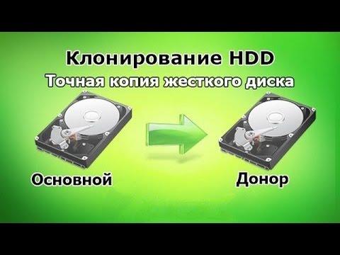 Как клонировать перенести жесткий диск разного размера. В чем секрет