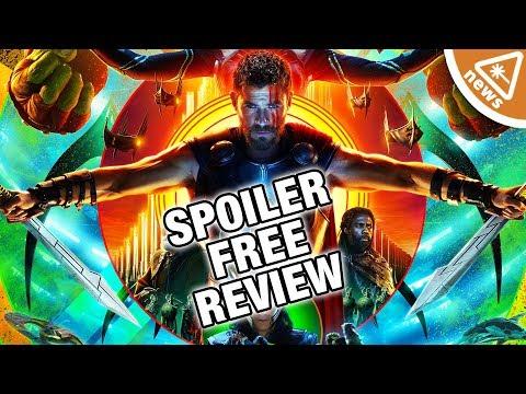 Thor Ragnarok Spoiler Free Reactions and Reviews! (Nerdist News w/ Jessica Chobot)