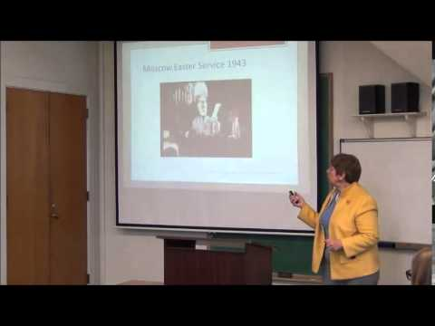 "Brownbag: ""Soviet Disinformation on Katyn and the Role of the Orthodox Church,"" Krystyna Piorkowska"