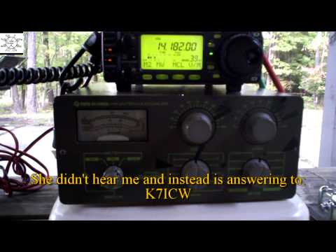 Uncle Steve Takes His Ham Radio Outdoors
