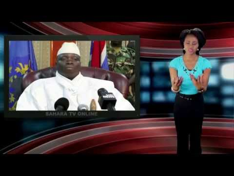"""Gambia Will Become Richest Country On Earth By 2015"" - Yahya Jammeh"