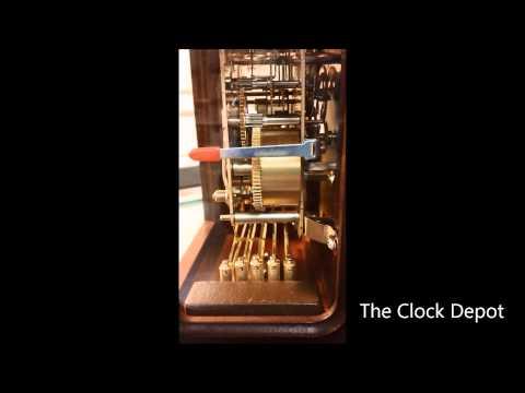 Hermle westminster keywound mantel clock