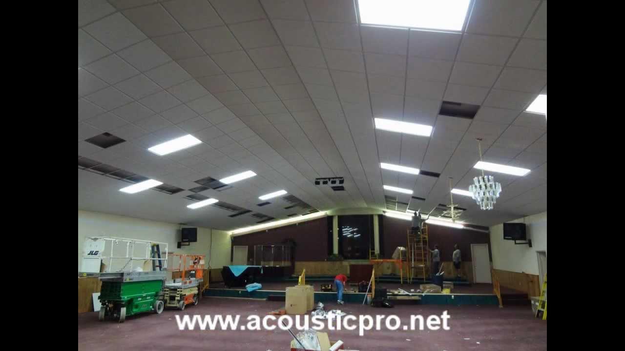 Drop Ceilings Orlando Florida Church Suspended
