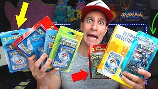 OPENING EVERY 3RD PARTY POKEMON CARDS PRODUCTS from TARGET!