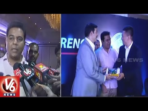 KTR Speaks On Benelli Manufacturing Plant Near Hyderabad | V6 News