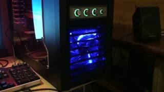 (HD) 2010 Gaming Rig Upgrade - Lancool Dragonlord K62, ATi Radeon 5850, Dell ST2410, Samsung, Razer