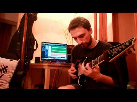 Andy James - Lick Library - Metal Rhythm Guitar Week 2 Example 1
