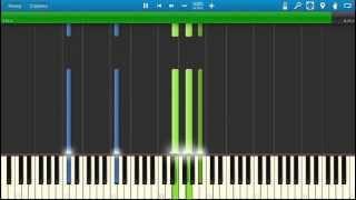 Tomaso Albinoni - Adagio in G Minor. Piano (Synthesia)