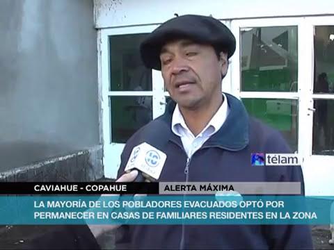 Neuquén declara alerta máxima y en Chile evacuarían al ganado