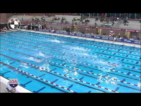 Men's 400m Freestyle Relay Heat 1   2012 Columbus Gran Prix