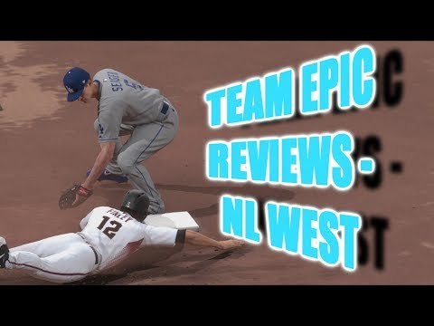 TEAM EPIC REVIEWS!! - NL West - MLB The Show 18