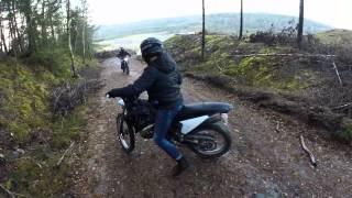 Moped Road Trip   Fall 2014   60fps!!!