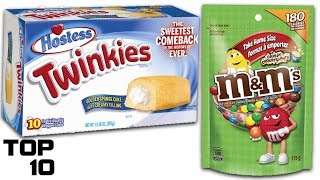 Top 10 Discontinued Foods That Came Back