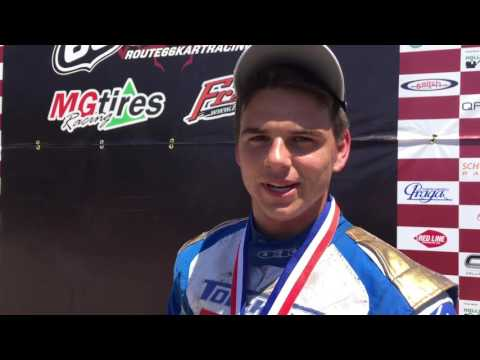 Dakota Pesek Post Event Yamaha Senior Route 66 Shawano Interview