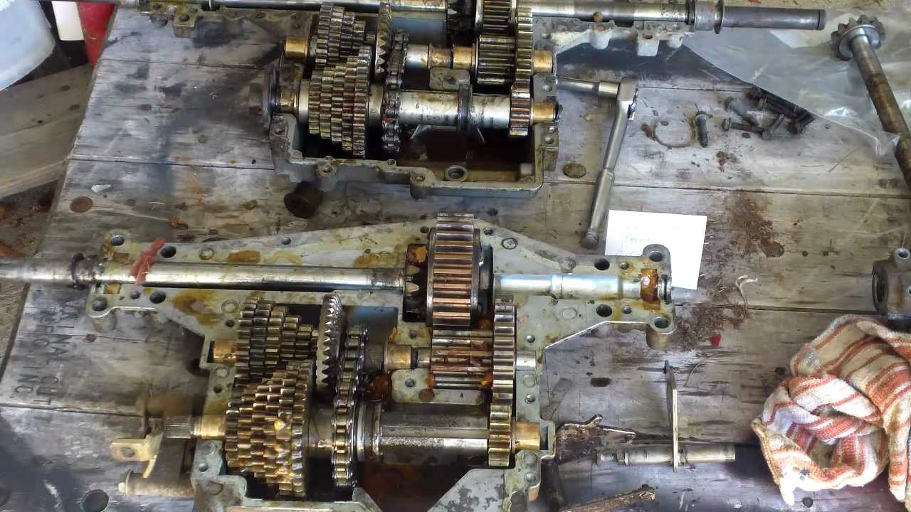 How To Change Transaxle Gears Youtube