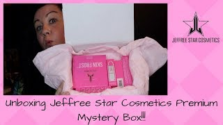 Jeffree Star Premium Mystery Box Unboxing | Vlogmas Day 17