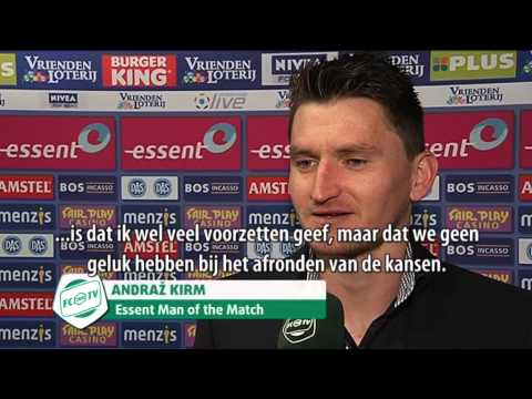 Andraz Kirm: Essent Man of the Match