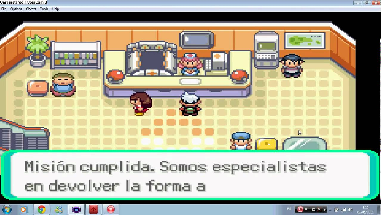 Pok mon esmeralda gimnasio 5 norman pap youtube for Gimnasio 7 pokemon esmeralda