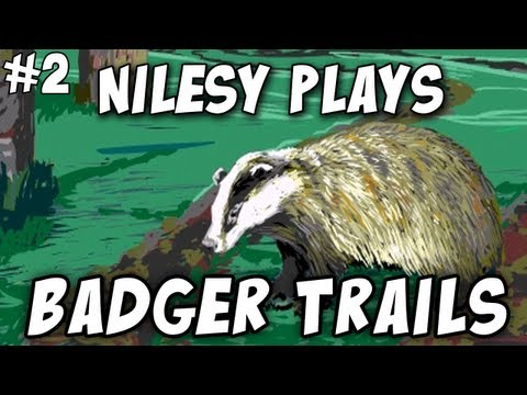 Nilesy plays Badger Trails! Shots Fired! [YouTube Geek Week]