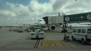 Heading to Spicejet aircraft in Bangalore Airport