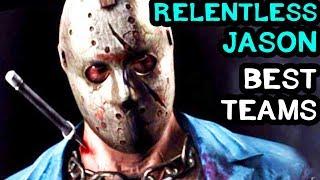 Best Relentless Jason Teams in MKX Mobile. Mortal Kombat X Mobile LIVE Stream.