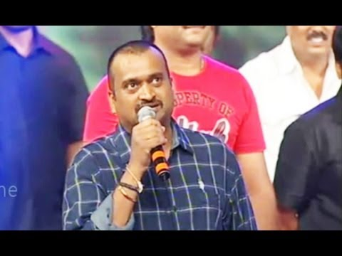 Bandla Ganesh Ultimate Full Speech - Iddarammayilatho Audio Launch