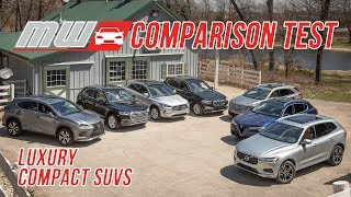 Comparison Test: Luxury Compact SUV Challenge