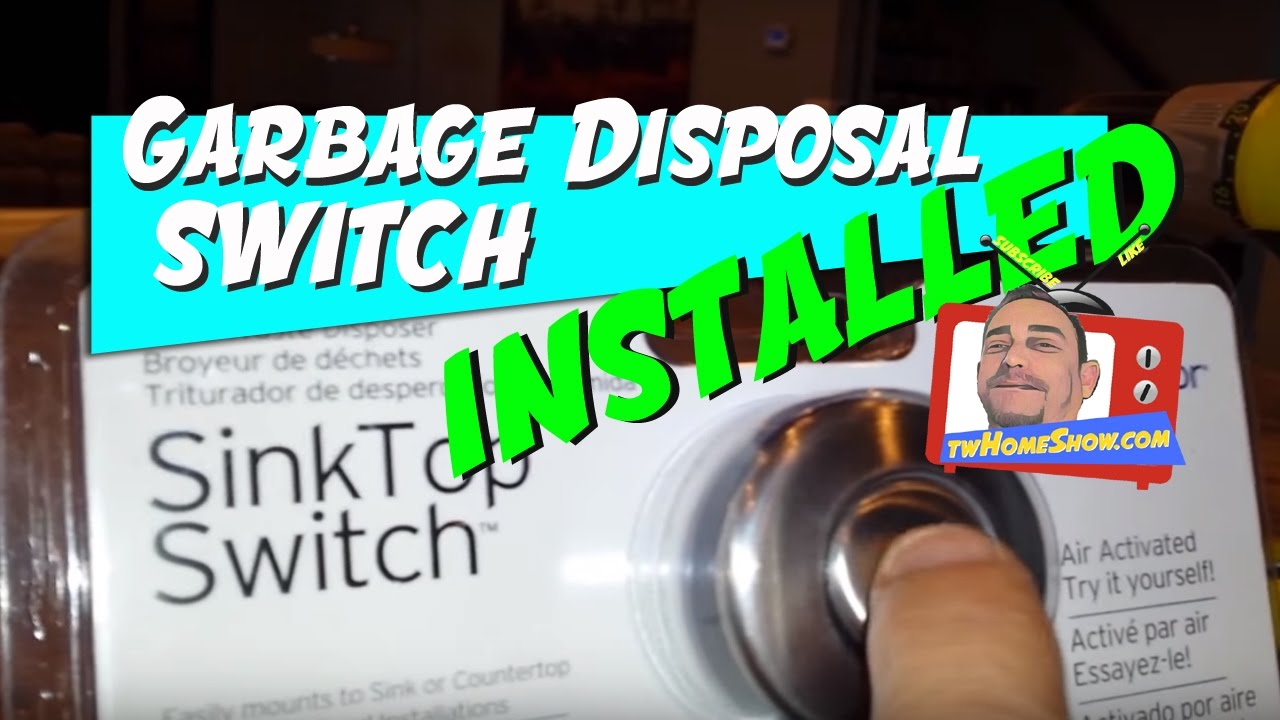 Sink Top Garbage Disposal