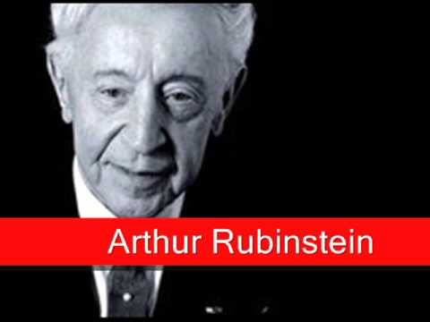 Arthur Rubinstein: Chopin - Prelude Op. 28 No. 15 in D flat major, 'Raindrop'
